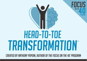 "Anthony Poponi is a Corporate Trainer, Coach, Motivational Speaker and author of ""Focus on the 40"" specializing in improving team dynamics, communication and productivity for teams and individuals. His work is based on the research in the fields neuroplasticity, positive psychology, and leadership to focus on a flourishing life."
